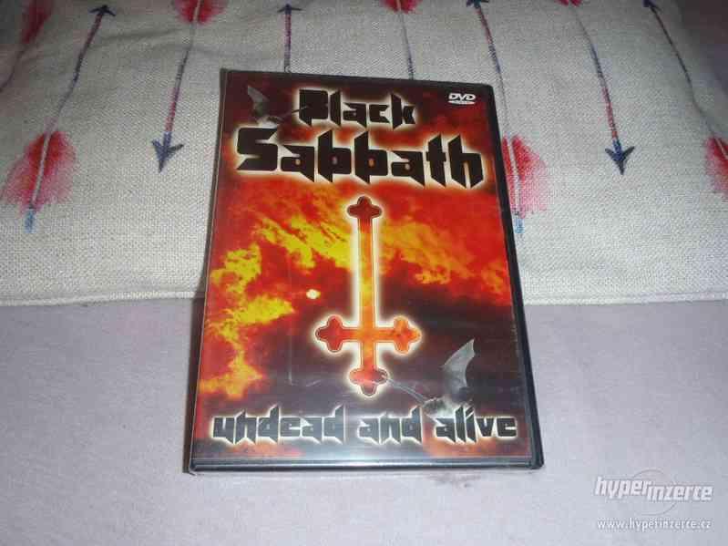 nové DVD Black Sabbath - Undead And Alive