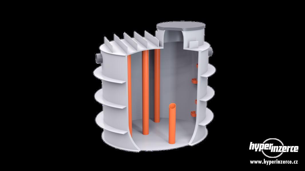 Retenční nádrž, jímka na vodu 8m3