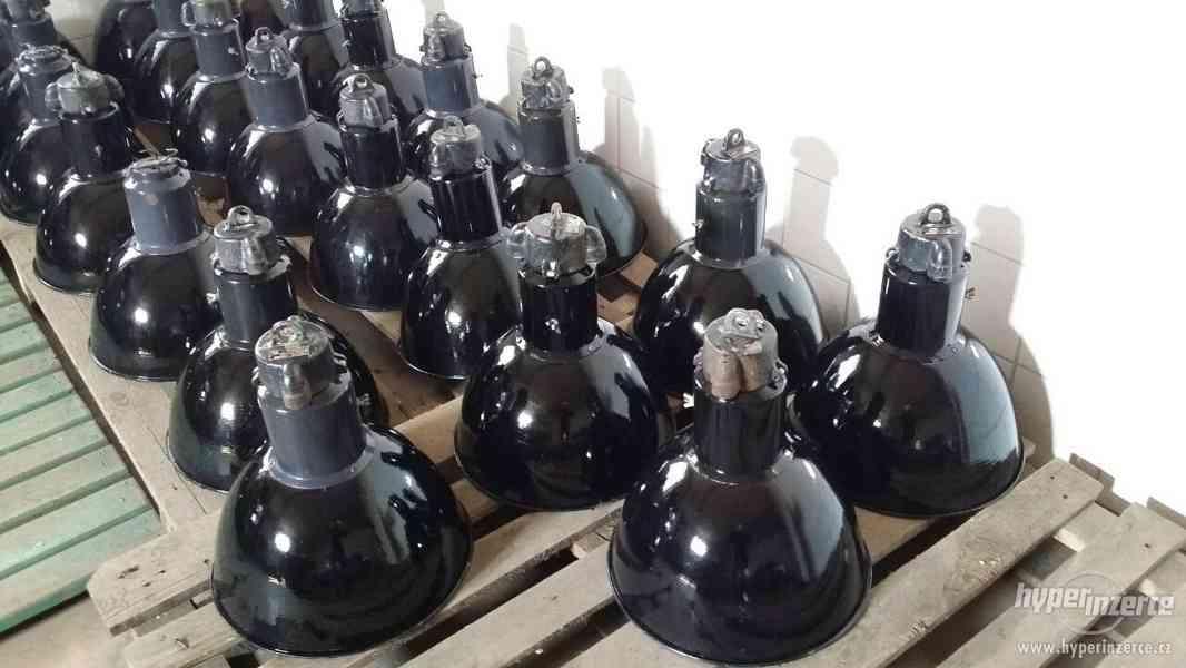Koupím staré tovární lampy