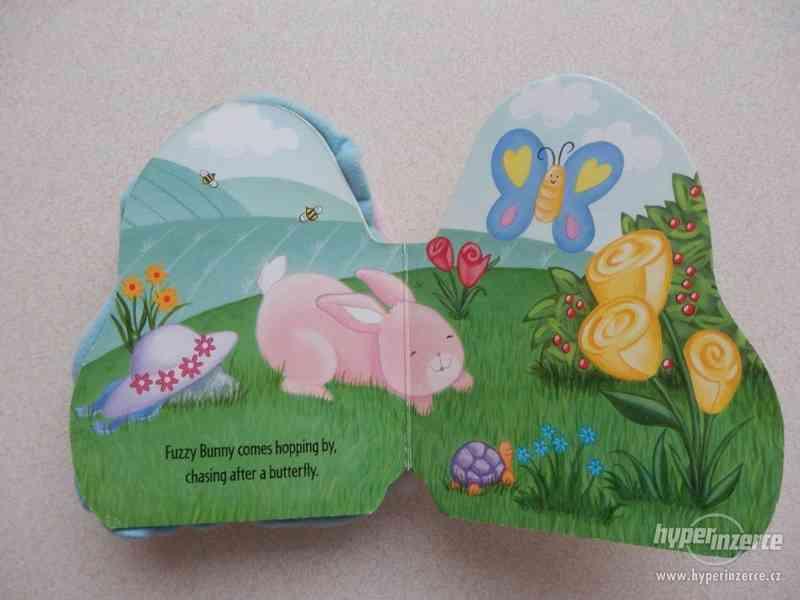 Dětská knížka Fuzzy Bunny