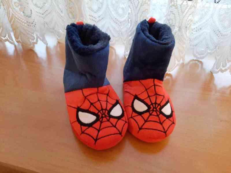Dětské bačkory Spiderman