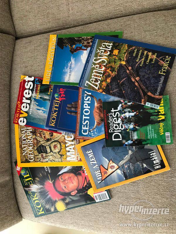 Prodám cestopisné časopisy - foto 1