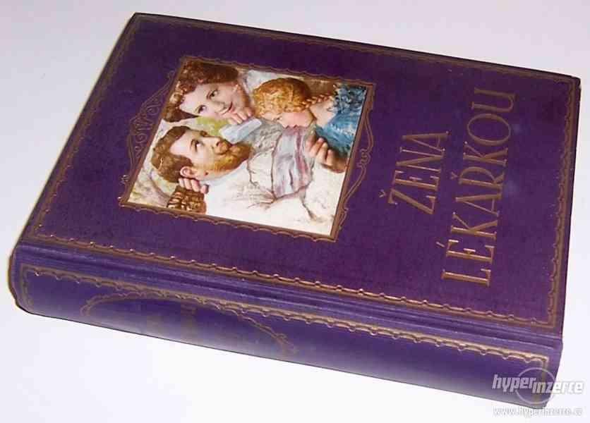 Starožitná kniha Žena lékařkou, rok 1923