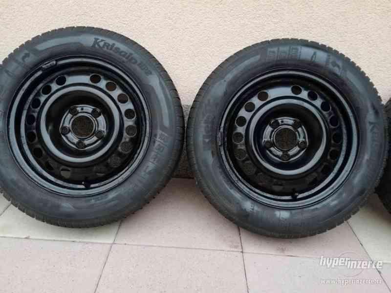 Opel – plechové disky +letní a zimní pneu 195/60R15, 6J x 15 - foto 6