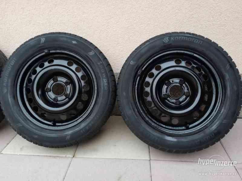 Opel – plechové disky +letní a zimní pneu 195/60R15, 6J x 15 - foto 10