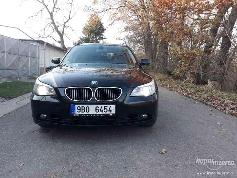 BMW 525D Touring,orig.km,serviska,1.maj,224t km,novéTZ na 2t - foto 3