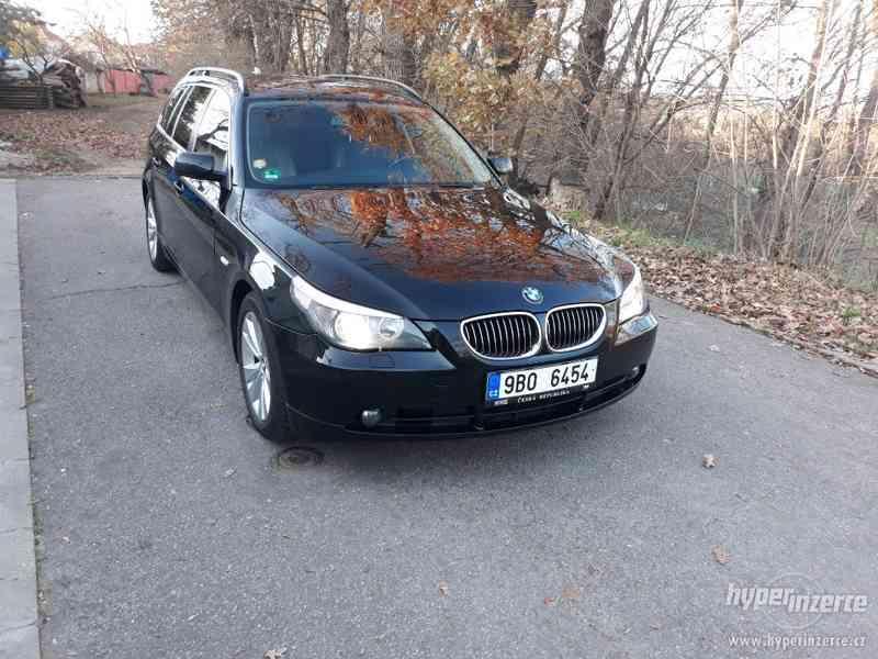BMW 525D Touring,orig.km,serviska,1.maj,224t km,novéTZ na 2t - foto 4