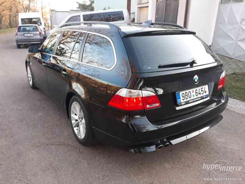 BMW 525D Touring,orig.km,serviska,1.maj,224t km,novéTZ na 2t - foto 6