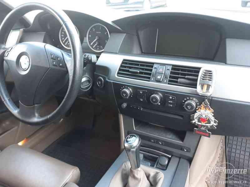 BMW 525D Touring,orig.km,serviska,1.maj,224t km,novéTZ na 2t - foto 15