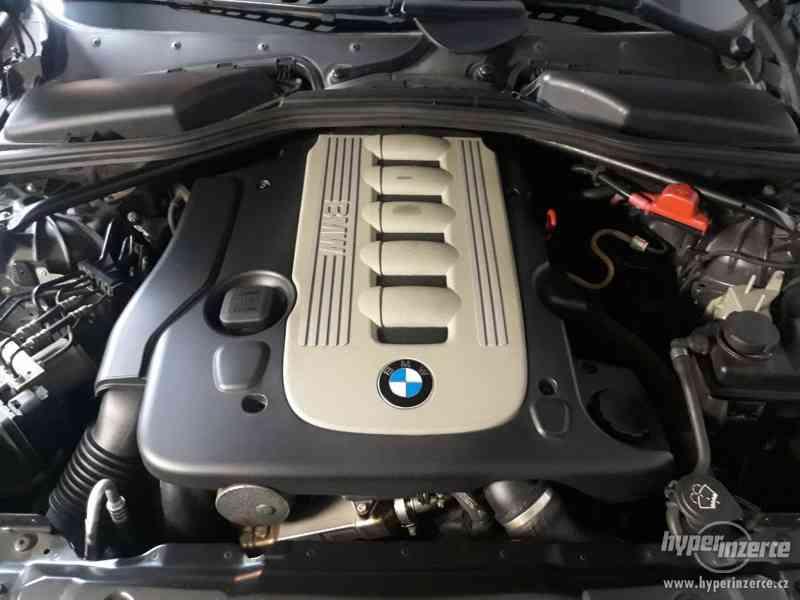 BMW 525D Touring,orig.km,serviska,1.maj,224t km,novéTZ na 2t - foto 25