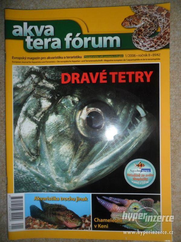 Prodám starší knížky a časopisy o akvaristice - foto 1