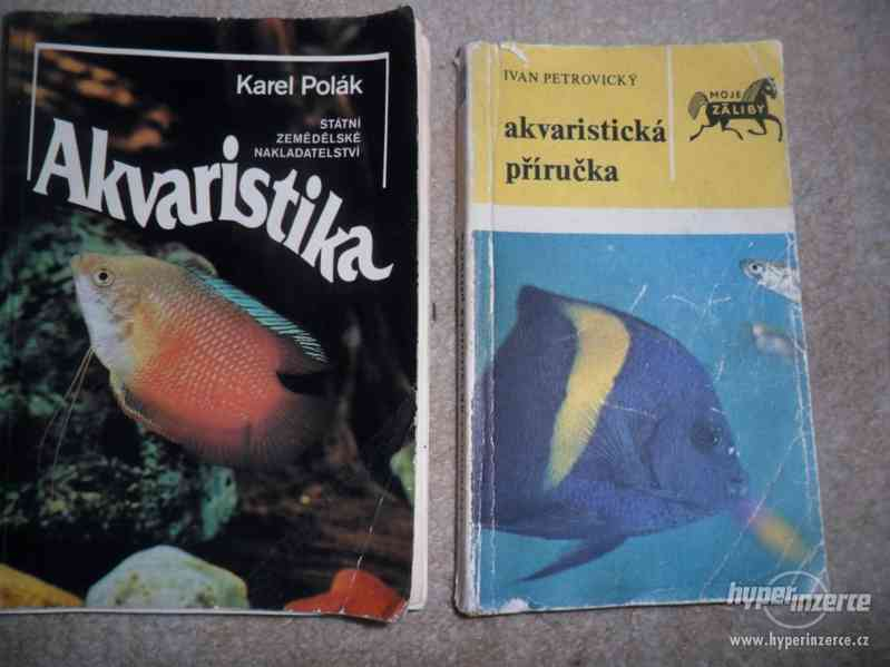 Prodám starší knížky a časopisy o akvaristice - foto 3