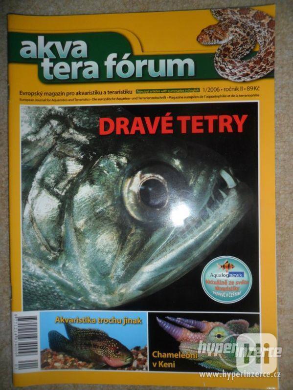 Prodám starší knížky a časopisy o akvaristice