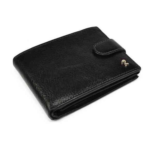 Pánská černá peněženka kožená - foto 2