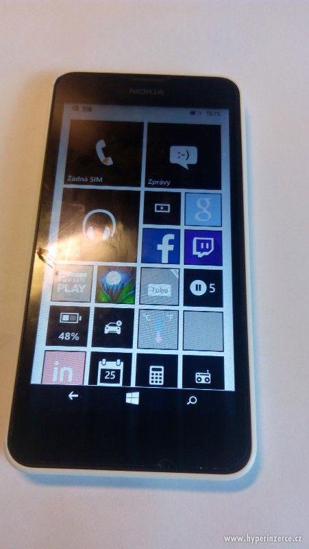 Nokia Lumia 630 s 128 gb samsung evo kartou