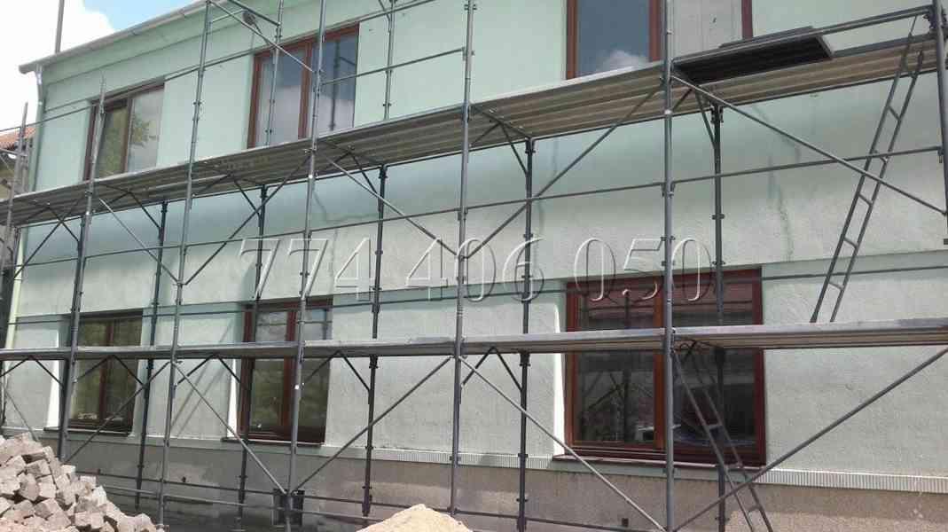 Prodám fasádní lešení 243 m2 - 388,8 m2 - 510,3 m2 - foto 3