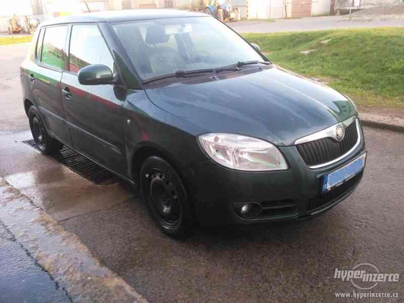 Škoda Fabia II 1,2 HTP,51KW Rok 2007 nová STK