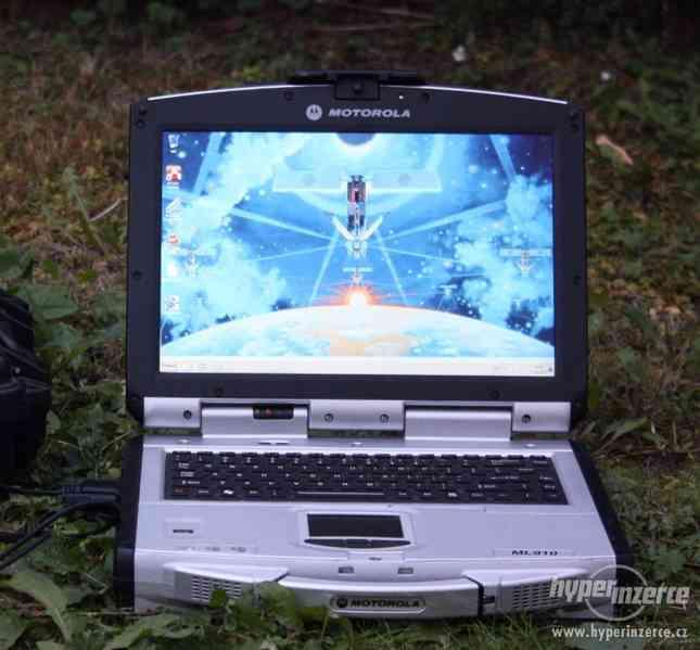 Odolný NB Motorola WIN7 lepší jak Panasonic Toughbook