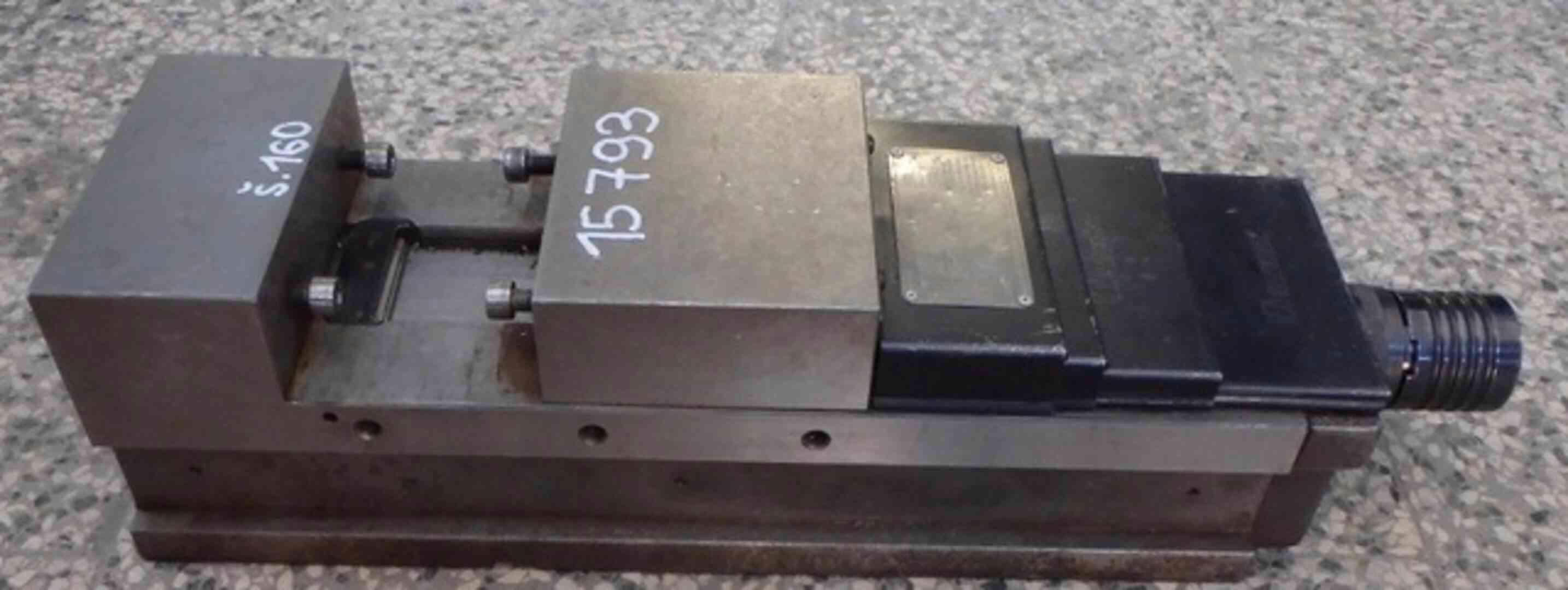 Hydraulický strojní svěrák CHV 160 V (9713.)  - foto 1