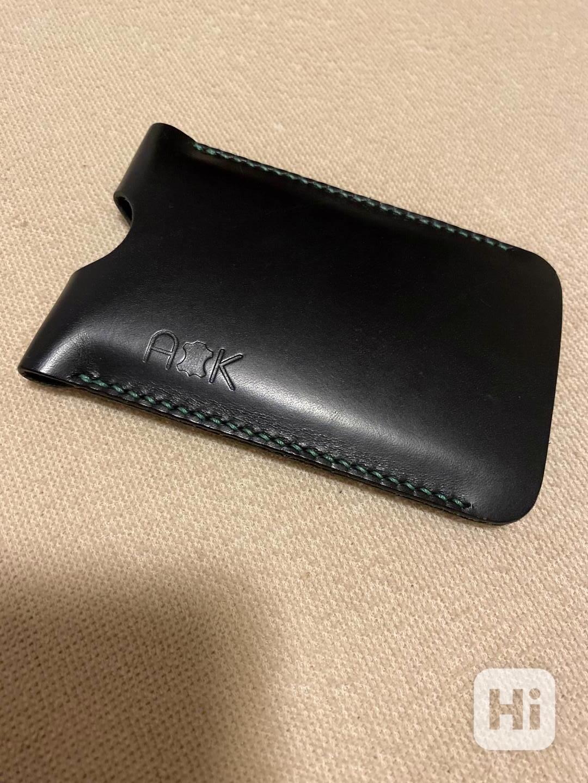 Prodám exluzivní, nové, kožené pouzdro, vyrobené na zakázku  - foto 1