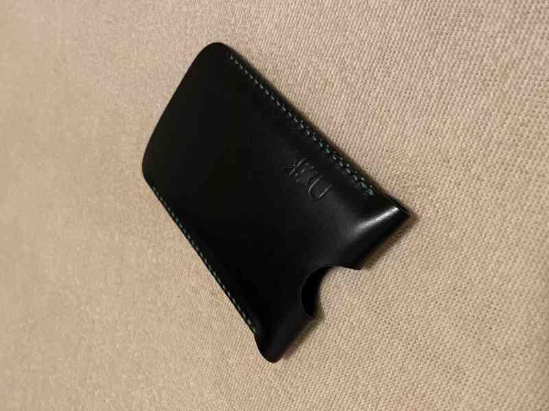 Prodám exluzivní, nové, kožené pouzdro, vyrobené na zakázku  - foto 4