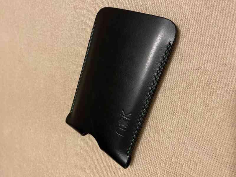 Prodám exluzivní, nové, kožené pouzdro, vyrobené na zakázku  - foto 2
