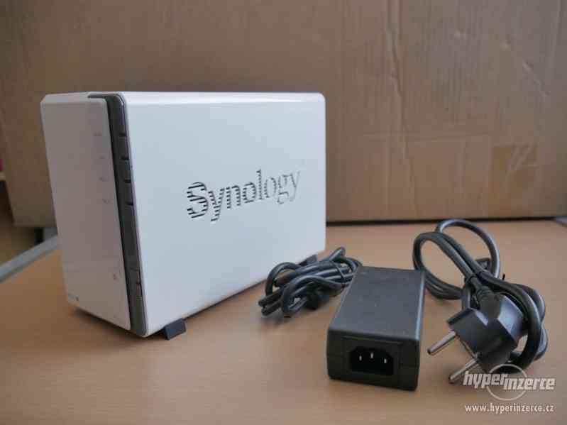 NAS Server Synology DS212j; 640GB úložiště