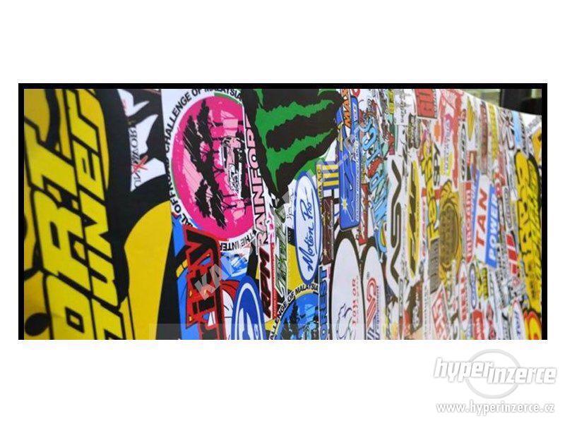 STICKERBOMB - GRAFFITI FOLIE 3D tvarovatelná - šíře 152cm - foto 5