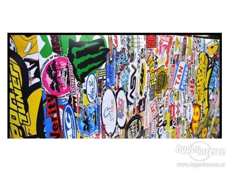 STICKERBOMB - GRAFFITI FOLIE 3D tvarovatelná - šíře 152cm - foto 6