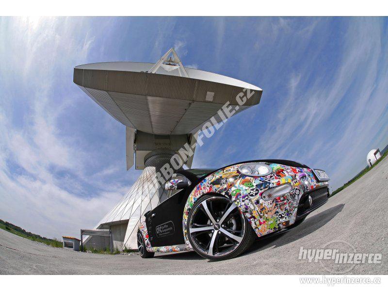 STICKERBOMB - GRAFFITI FOLIE 3D tvarovatelná - šíře 152cm - foto 11