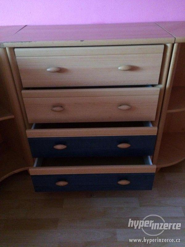 Prodám nábytek ze staršího dětského pokoje. - foto 3