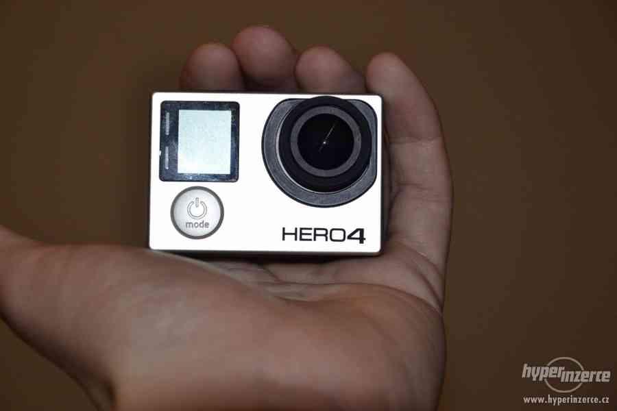 Gopro Hero 4 black + 64GB Sandisk extreme + příslušenství - foto 7