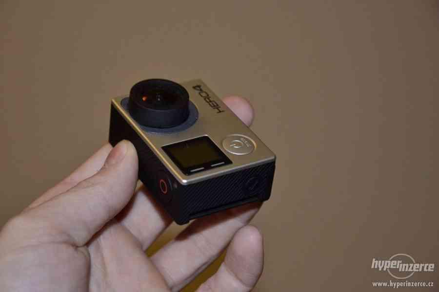 Gopro Hero 4 black + 64GB Sandisk extreme + příslušenství - foto 10