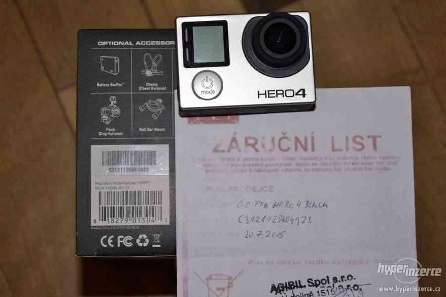 Gopro Hero 4 black + 64GB Sandisk extreme + příslušenství - foto 12
