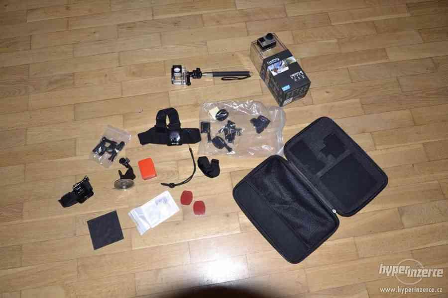 Gopro Hero 4 black + 64GB Sandisk extreme + příslušenství - foto 14