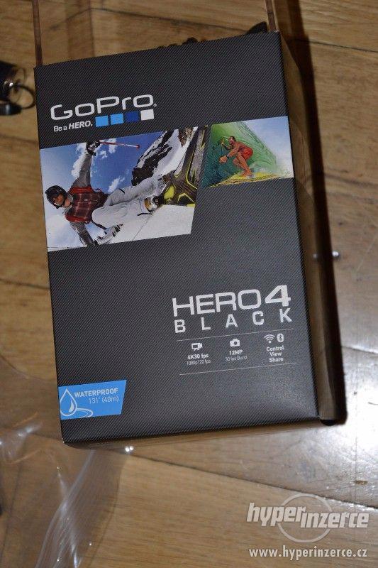 Gopro Hero 4 black + 64GB Sandisk extreme + příslušenství - foto 11