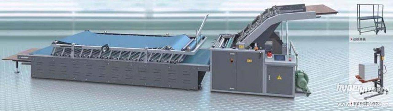 Poloautomatický kašírovací stroj - foto 1