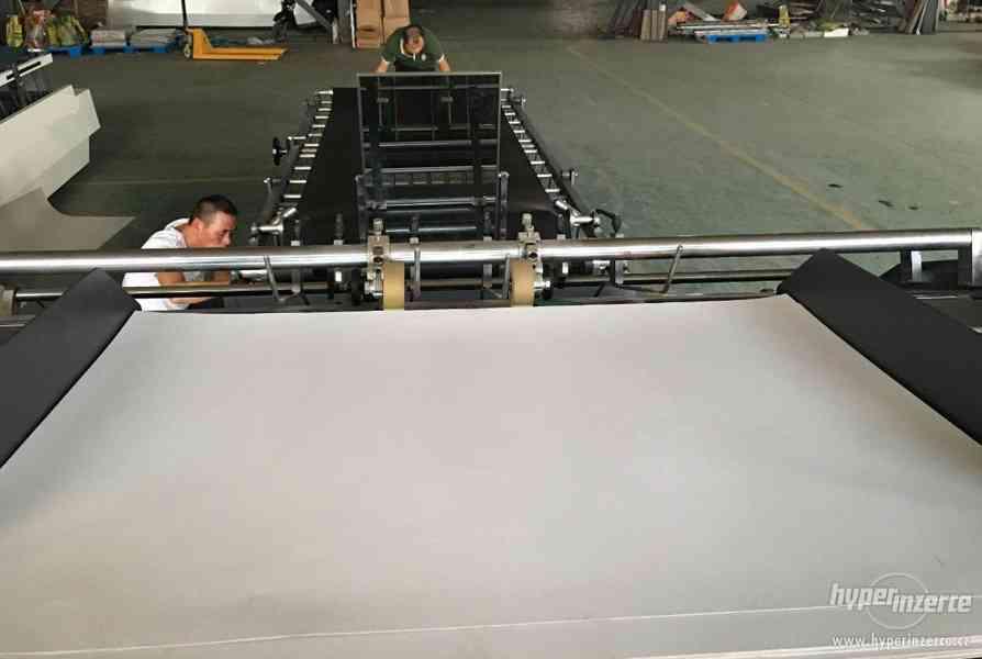Poloautomatický kašírovací stroj - foto 6