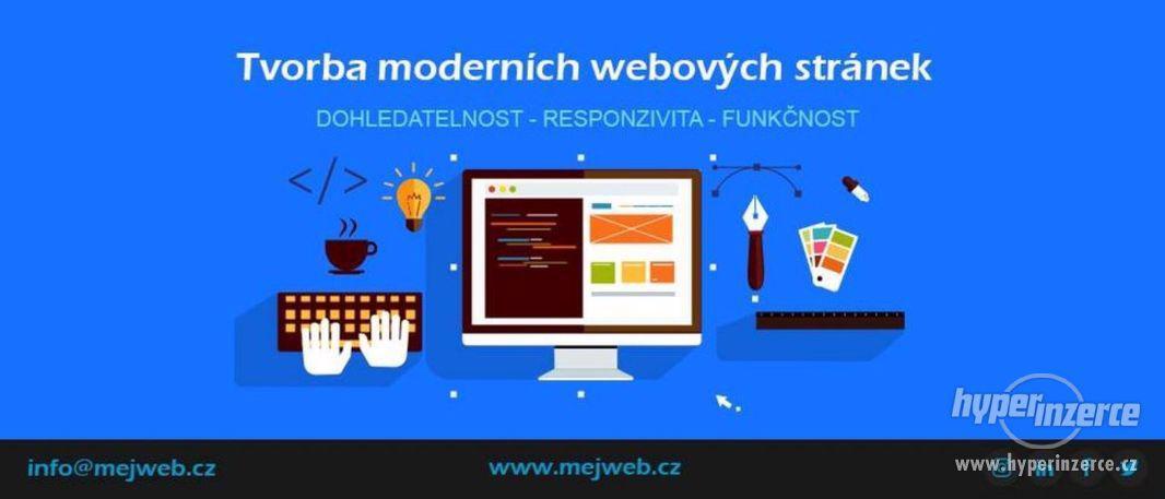 Vytvoření webových stránek - Rychle a kvalitně - foto 1