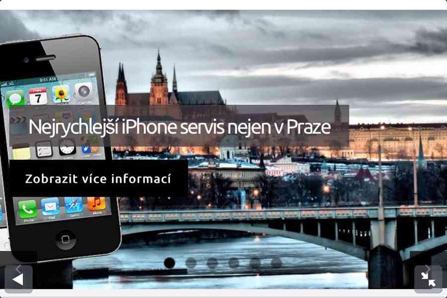AAA servis Nejrychlejší oprava iPhone ihned na počkání - foto 1