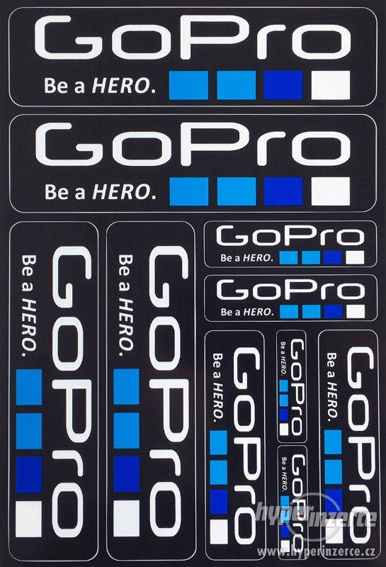 Nabízím polepy GoPro