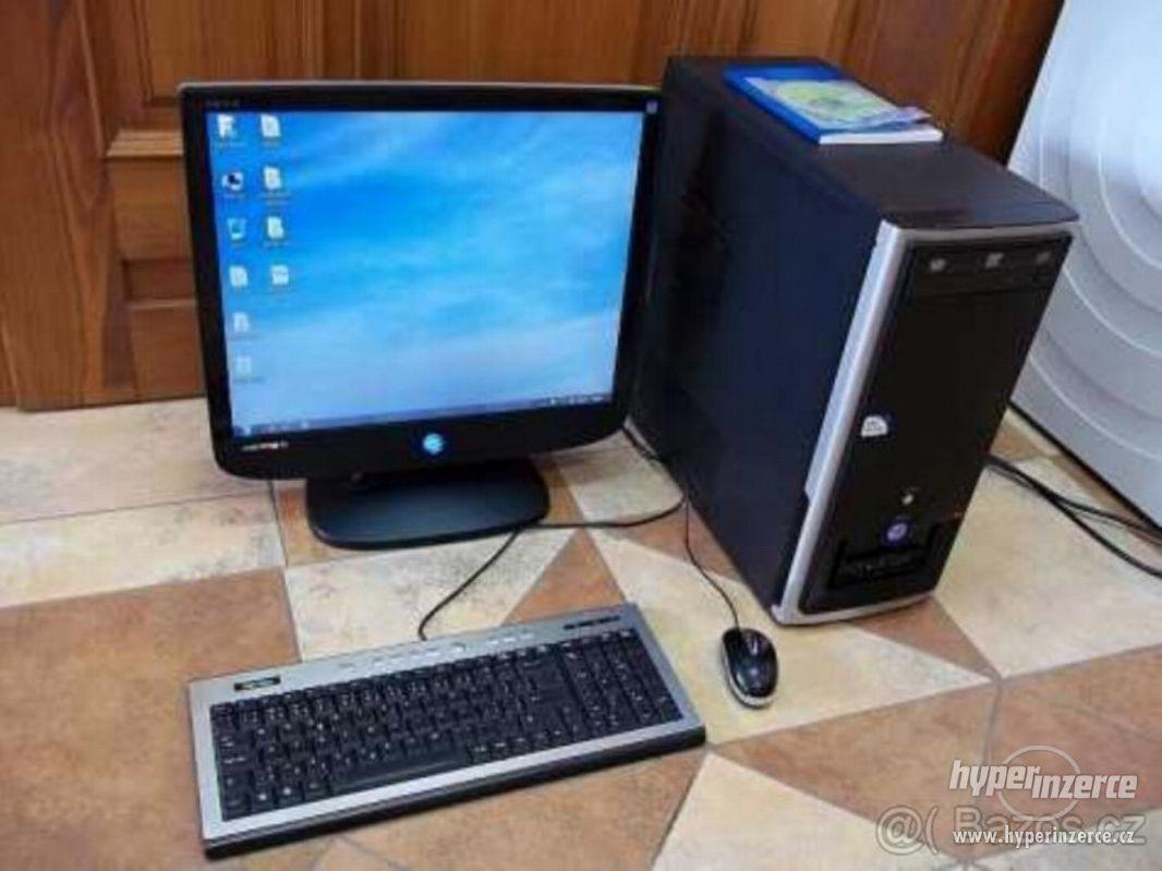 PC Pocitac+Monitor+klavesnice+mys - foto 1