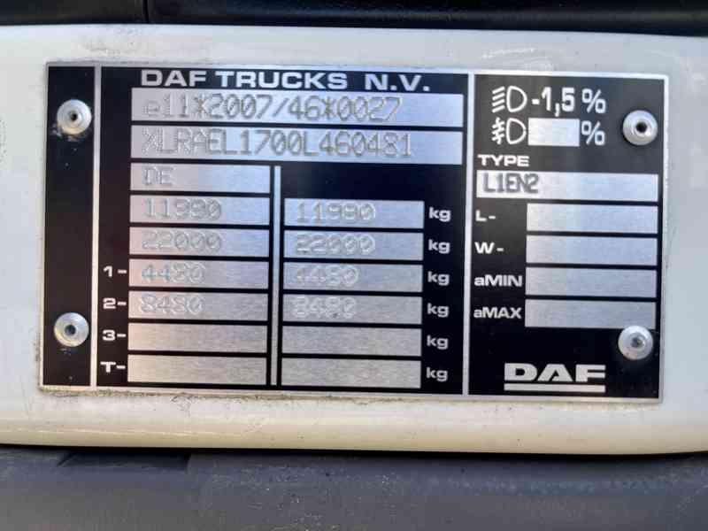 DAF LF 45.230, rok výroby 2017, najeto 278tkm, Celková hmotn - foto 12