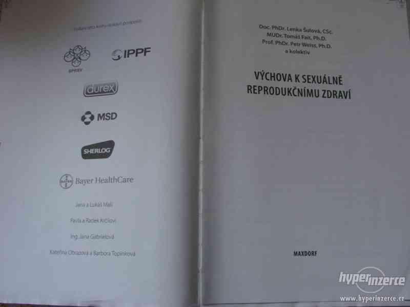 Lékařské knihy: Výchova k sexuálně reprodukčnímu zdraví - foto 3