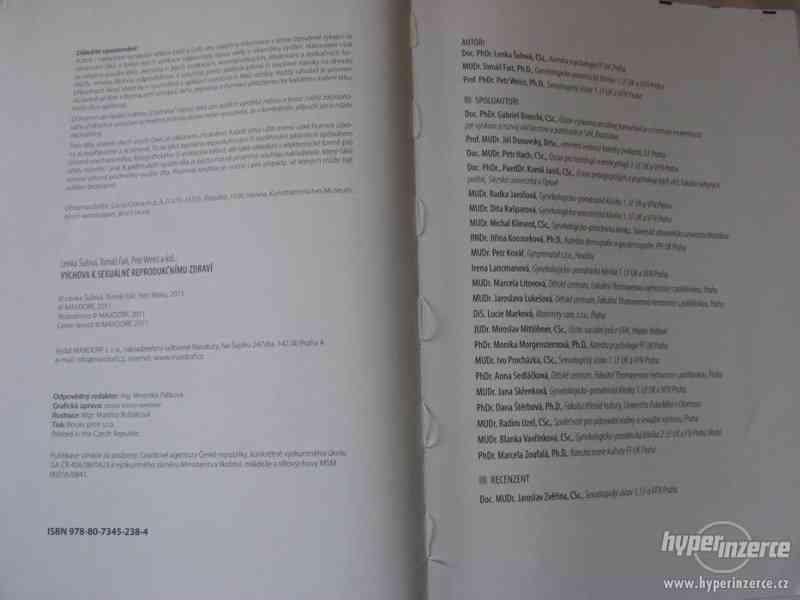 Lékařské knihy: Výchova k sexuálně reprodukčnímu zdraví - foto 4