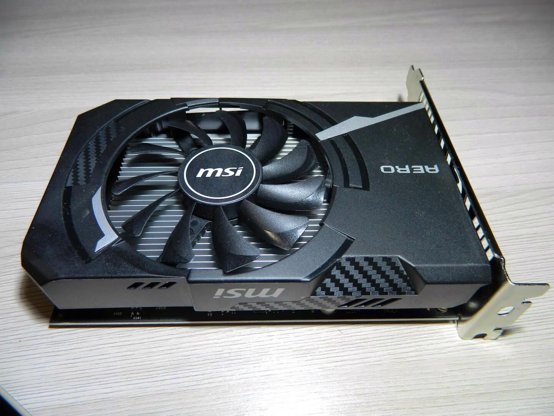 Msi Gt1030 aero itx 2GB - foto 1