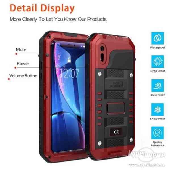 Černé vodotěsné nárazuvzdorné pouzdro pro Iphone XR