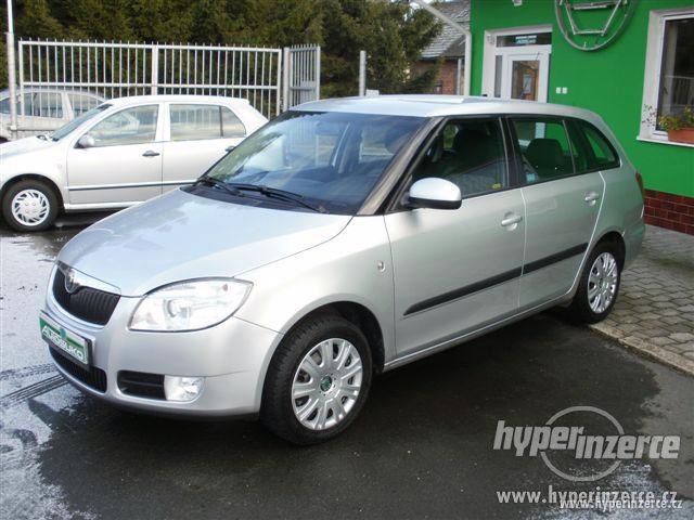 Prodej osobního vozu Škoda Fabia Combi II 1.4 TDI-PD 51kW 1.4, nafta, RV 2008