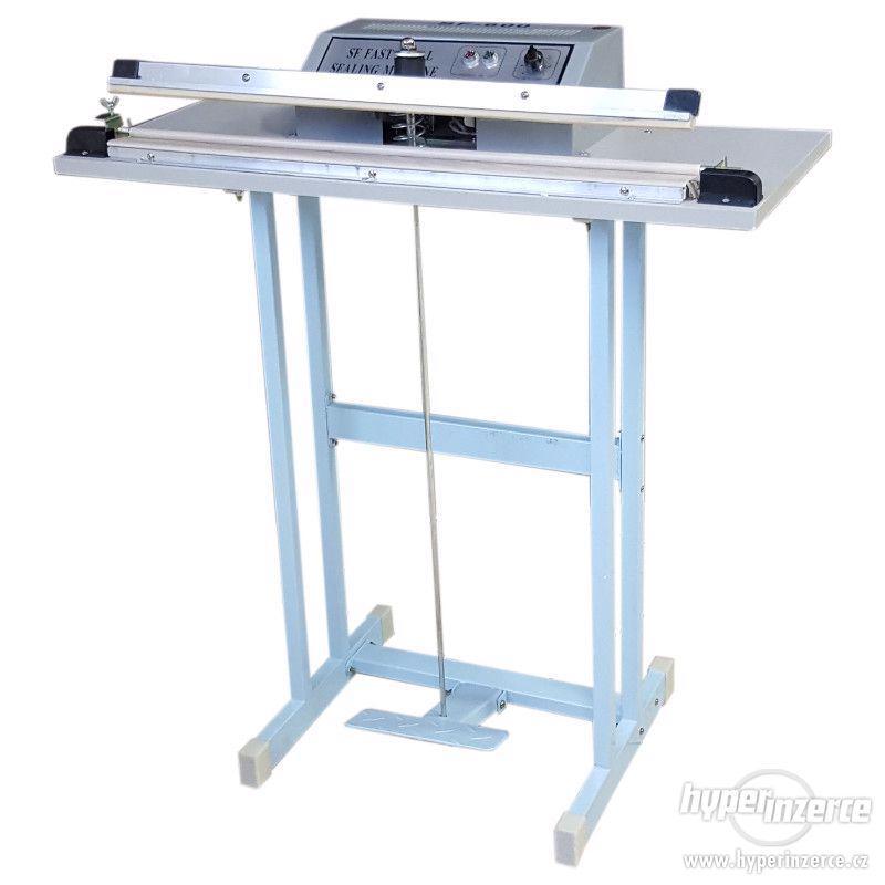 Svářečky folií hliníková konstrukce, svar 500x2 mm - foto 1