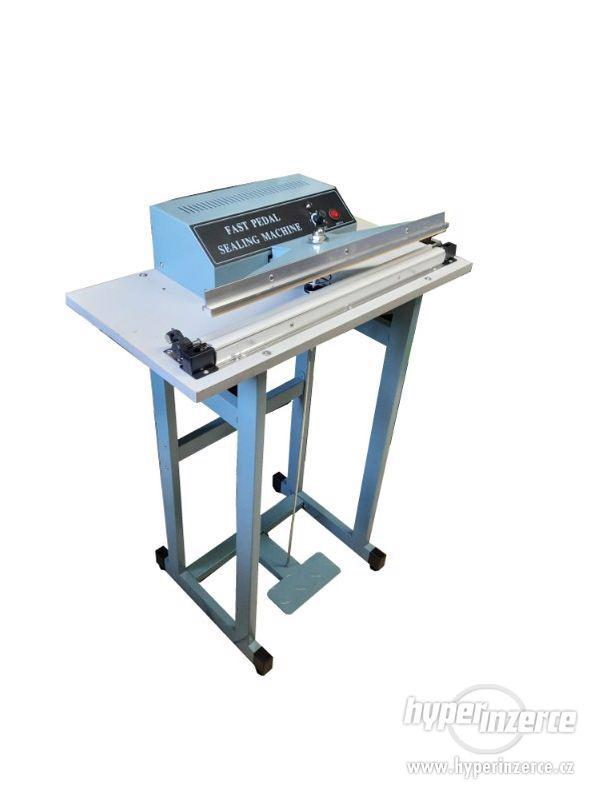 Svářečky folií hliníková konstrukce, svar 500x2 mm - foto 5